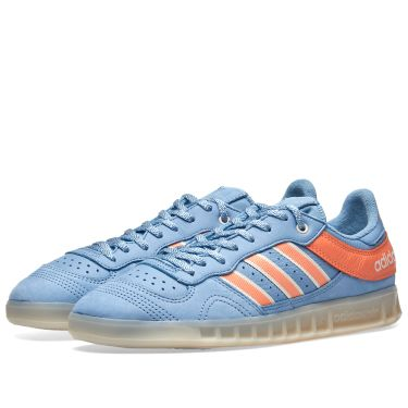 new arrival 77bb4 72fbb Adidas x Oyster Holdings Handball Top Blue, Coral & White | END.