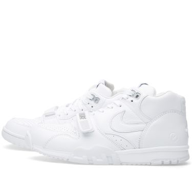 separation shoes c212e 0668a Nike x Fragment Design Air Trainer 1 Mid SP White   Wolf Grey   END.