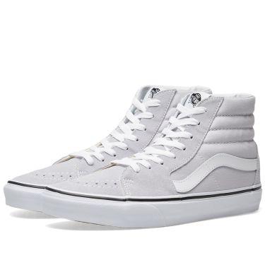 Vans Sk8-Hi Grey Dawn   True White  d189eee7de10