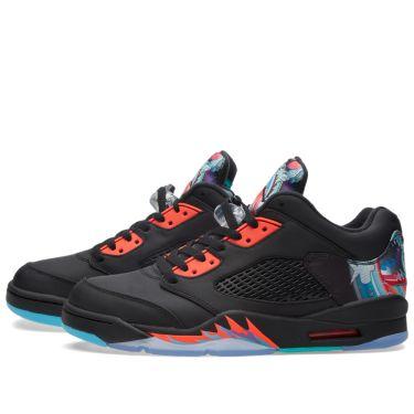 20dcfeee277 Nike Air Jordan 5 Retro Low  Chinese New Year  Black   Bright ...