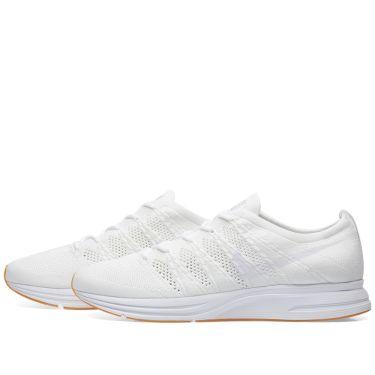brand new d2d04 834fb Nike Flyknit Trainer. White  Gum