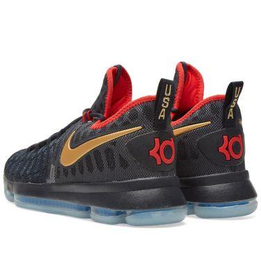 b4c9280e7fa0 Nike Zoom KD 9 Limited Dark Obsidian   Metallic Gold