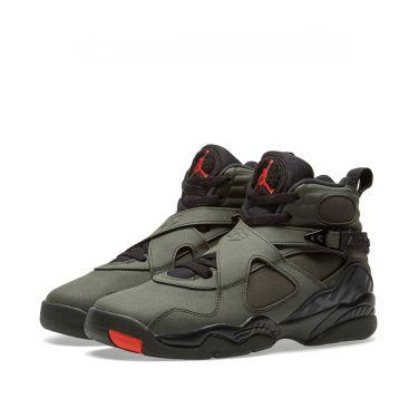 4f66a2c6448 Nike Air Jordan 8 Retro BG Sequoia