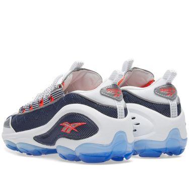 b32dc24aa840 Reebok DMX Run 10 Infinite Blue   Neon Cherry