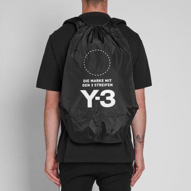 04df98d7a04d Y-3 Yohji Backpack Black