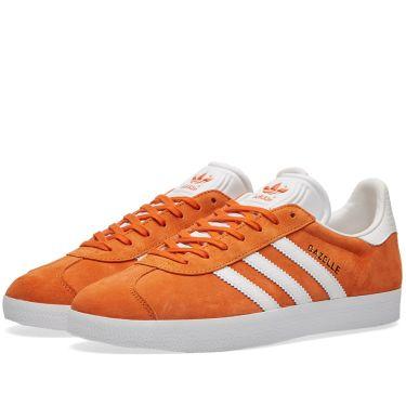 Adidas Women s Gazelle W Tactile Orange   White  ad5ea5476443