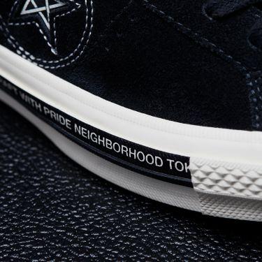 06059791a025 Converse x Neighborhood One Star Black