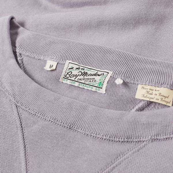 Levi's Vintage Clothing Bay Meadows Crew Sweat Quicksilver