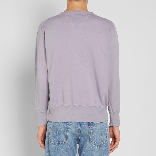Levi/'s Vintage Clothing Bay Meadows Sweatshirt Small Quicksilver LVC