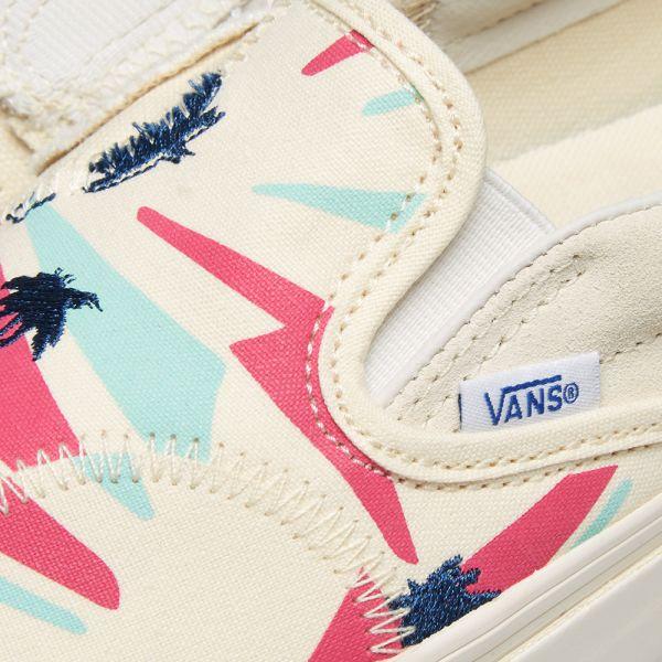 Vans Vault Classic Slip On Bricolage LX Classic White