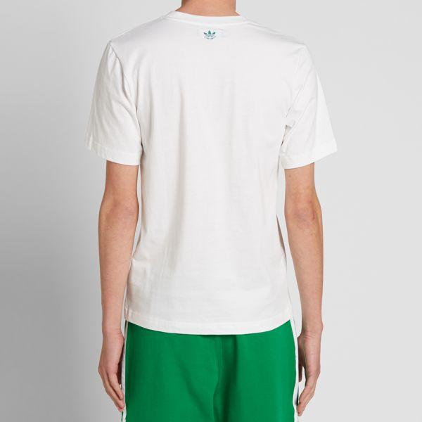 Adidas x Nigo Stan Smith Tee White | END.