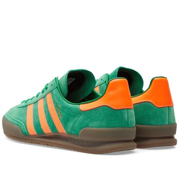mirar televisión Celsius Reportero  Adidas Jeans Green & Solar Orange | END.
