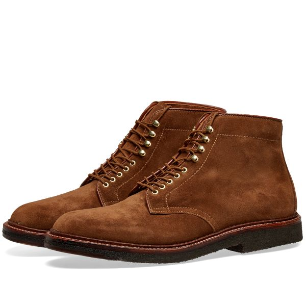 Alden Round Toe Boot Snuff Suede | END.