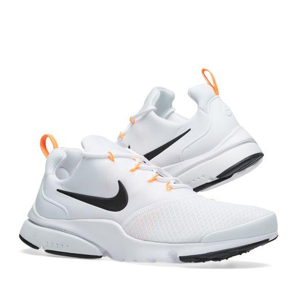 Nike Presto Fly JDI White, Black & Orange | END.