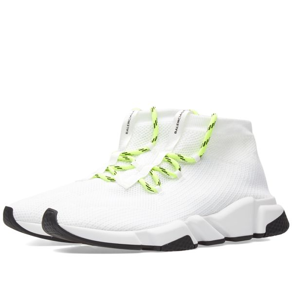 Balenciaga Lace Up Speed Runner White