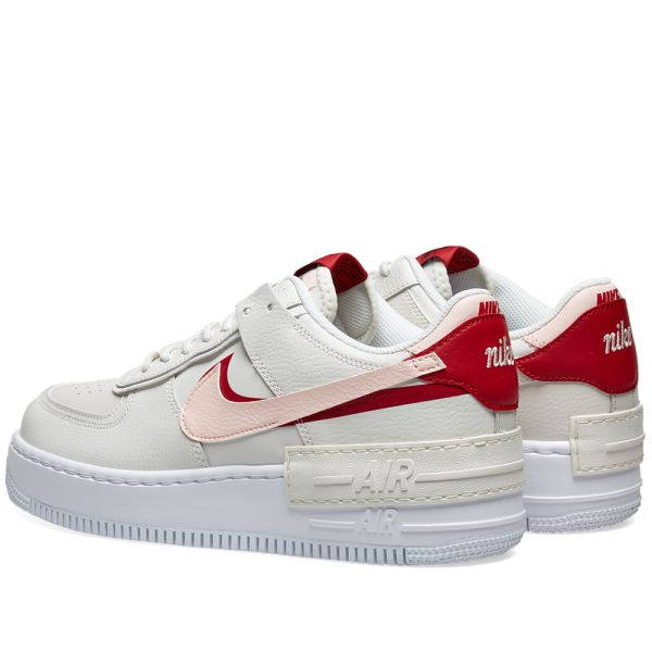 """Nike Air Force 1 """"Shadow"""" PhantomEcho Pink Gym Red For Sale"""