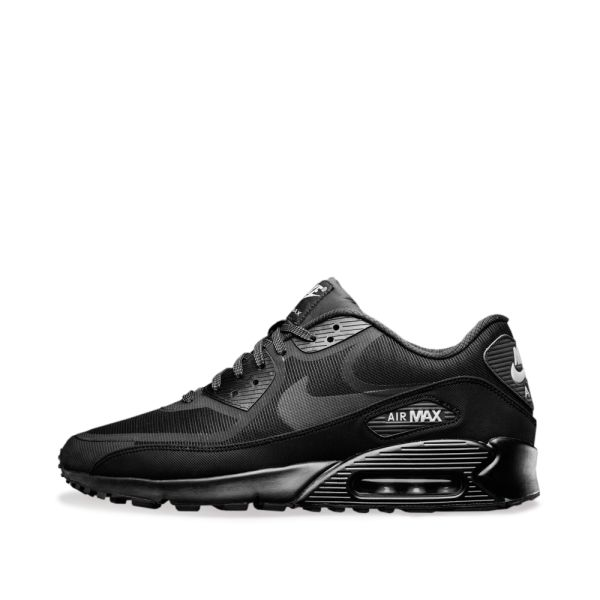 Women's Air Max 90 Low top Sneakers In White Black reflect Silver
