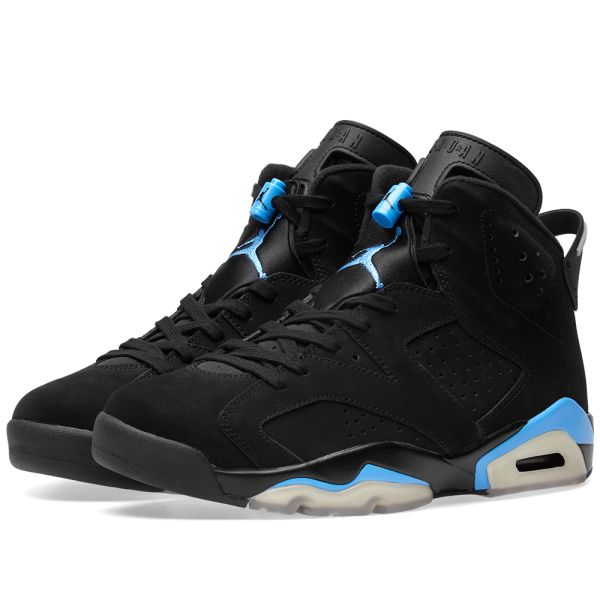 im Angebot zeitloses Design absolut stilvoll Nike Air Jordan 6 Retro UNC Black & University Blue | END.