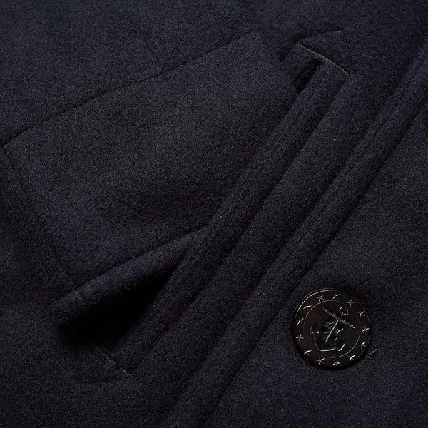 The Real Mccoy S U Navy Peacoat, Fashion Brand Pea Coat
