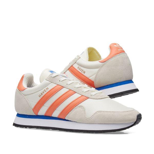 Adidas Haven White \u0026 Orange   END.