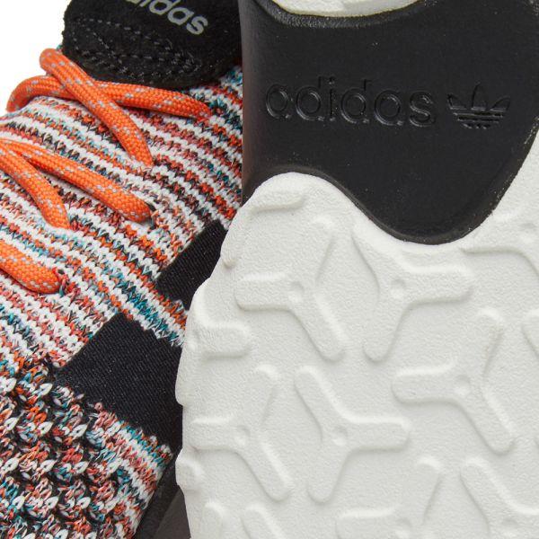 adidas originals f 22 suede trimmed primeknit sneakers
