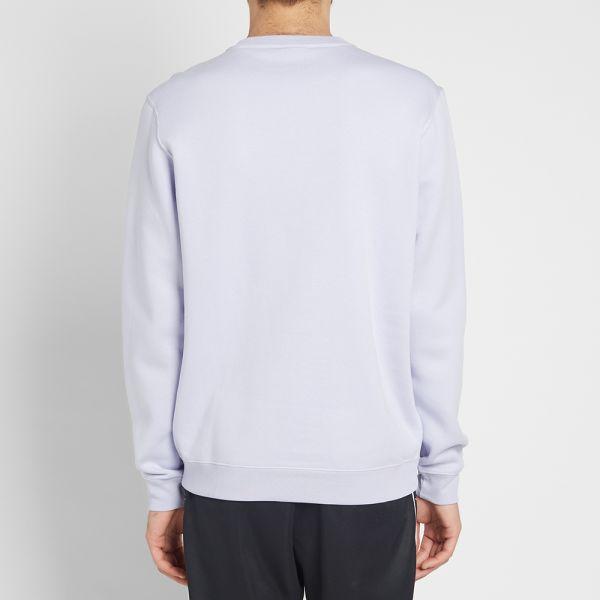 Nike Sportswear Club Crew Oxygen PurpleWhite