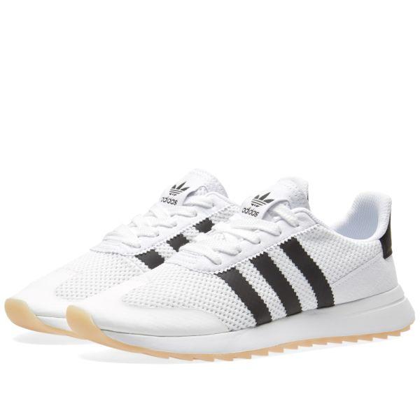 adidas flashback hvit