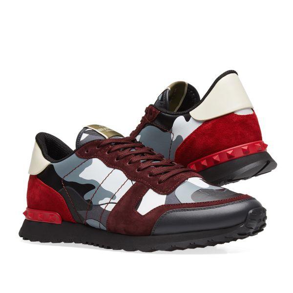 Valentino Rockrunner Sneaker Grey