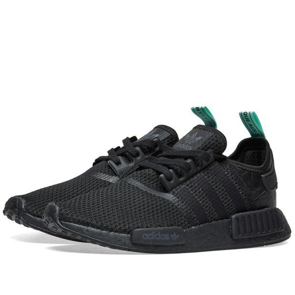 adidas nmd core black core black clear mint