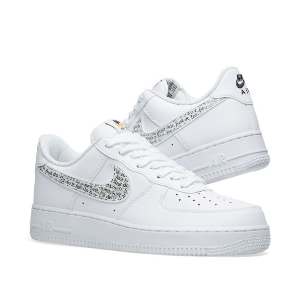 Nike Air Force 1 '07 'Just Do It' White