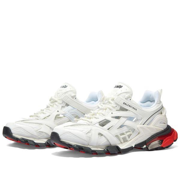 Balenciaga Track 2 Sneaker White, Red