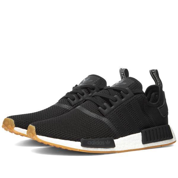 Adidas Nmd R1 Core Black Gum End