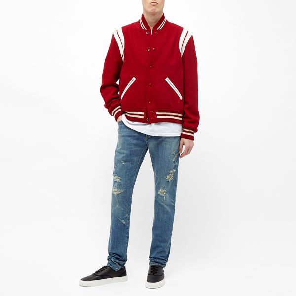 Saint Lau Clic Teddy Jacket Red