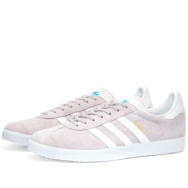 Adidas Gazelle W Purple Tint, White