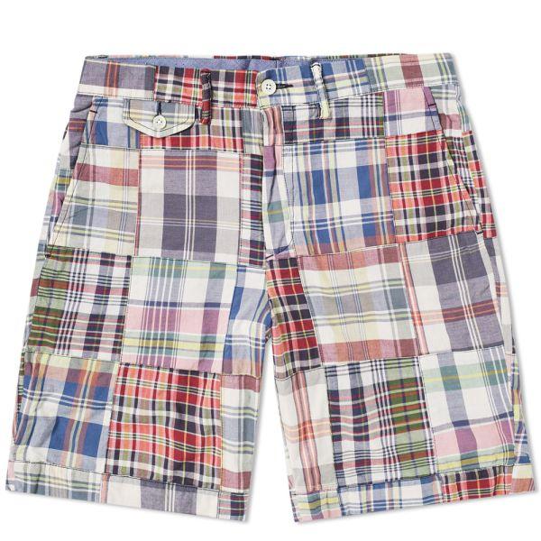 Buy Polo Ralph Lauren: Quick Send Patchwork Cotton Madras