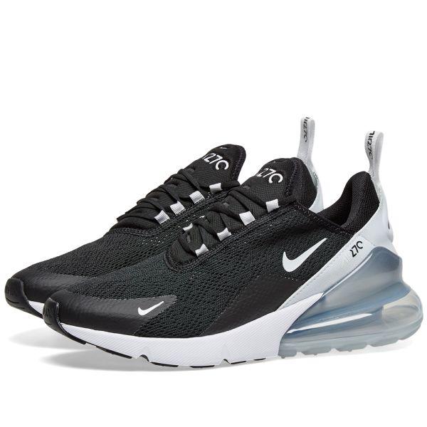 precio oficial mayor selección más nuevo mejor calificado Nike Air Max 270 W Black, White & Pure Platinum | END.