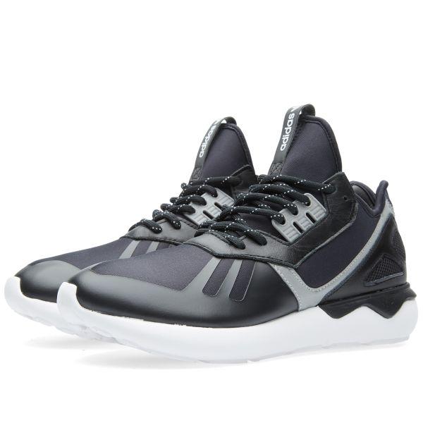traje Nadie Arte  Adidas Tubular Runner Core Black & White | END.