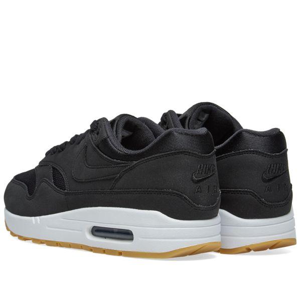 Nike Air Max 1 Black, Gum & Brown