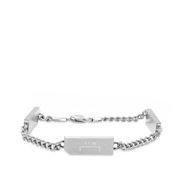 A Cold Wall Bracelet Silver End