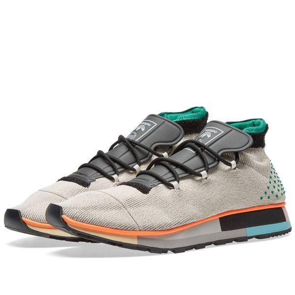chaussure adidas originals by alexander wang run mid noir