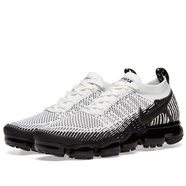 clearance prices professional sale uk availability Nike Air VaporMax Flyknit 2 White, Black & Orange | END.