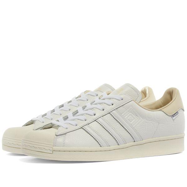Adidas Superstar Gore Tex White & Off White | END.