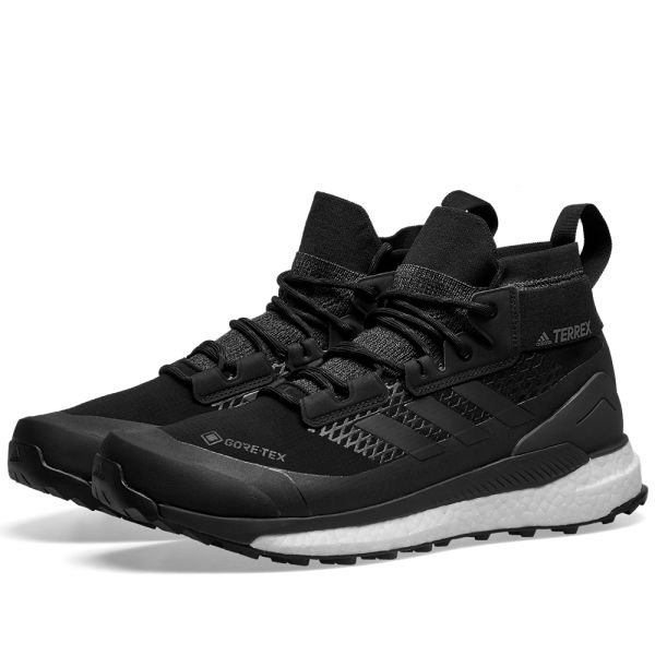 Adidas Terrex Free Hiker GTX Black, Grey & Orange   END.