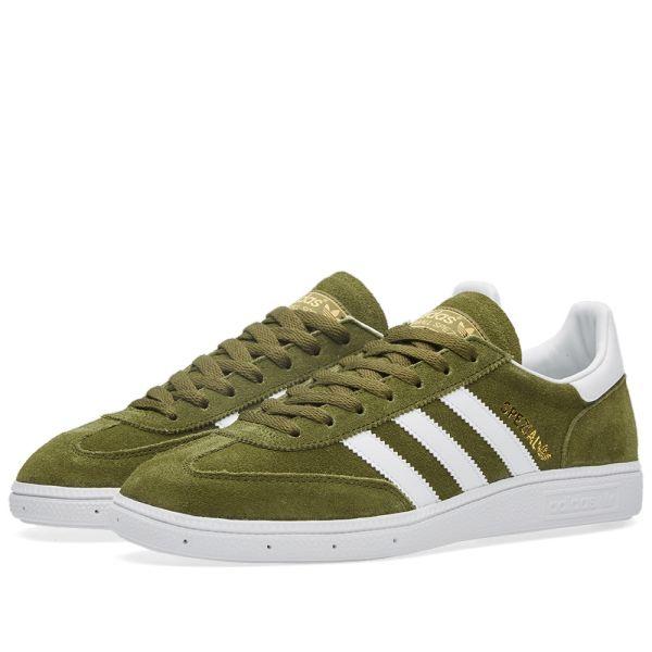 Adidas Spezial Dust Green \u0026 White   END.