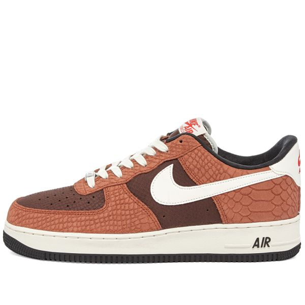 Nike Air Force 1 Premium Red Bark, Sail