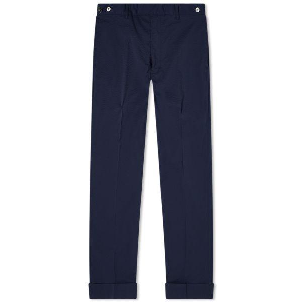 Beams Plus Coolmax Seersucker Ivy Trouser Navy End