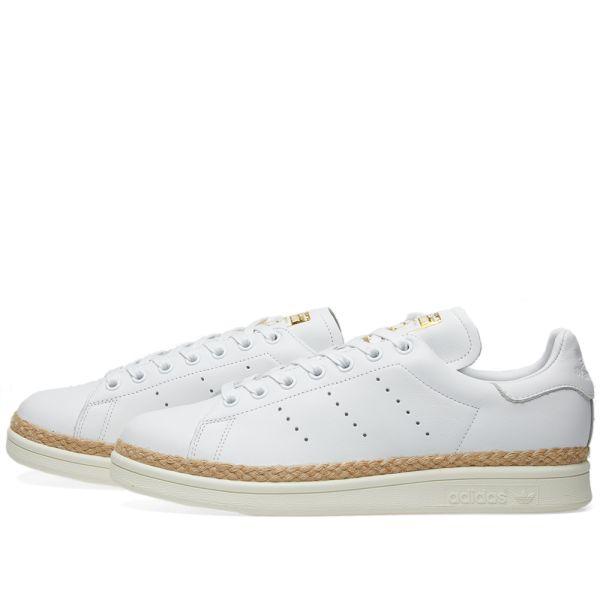 Adidas Stan Smith New Bold W White & Off White | END.