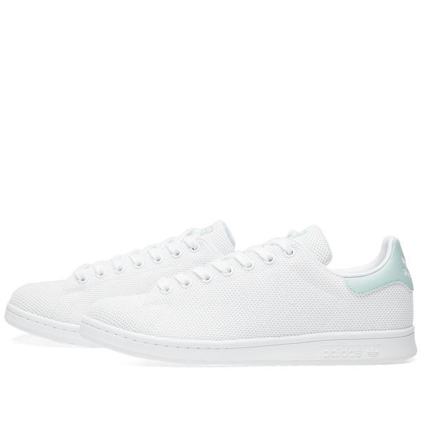 Adidas Stan Smith W White \u0026 Ash Green