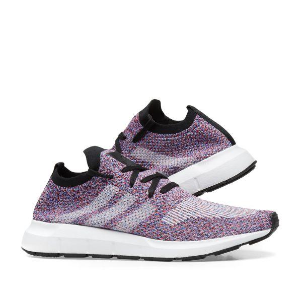 purple adidas swift run