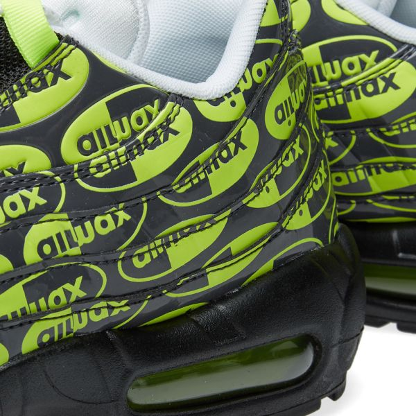 Nike Air Max 95 Premium 538416 019 Black Green
